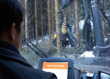 Conducteur/trice d'engin forestier